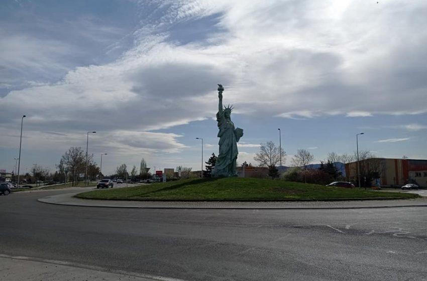 Statue de la Liberté à Colmar – photos