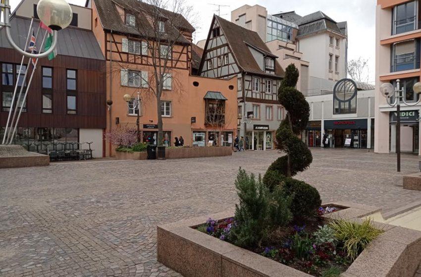 La place de la Mairie à Colmar – photos