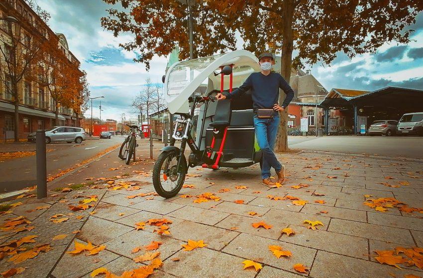 Vélo-taxi à Colmar : interview avec Jordan Stéphane