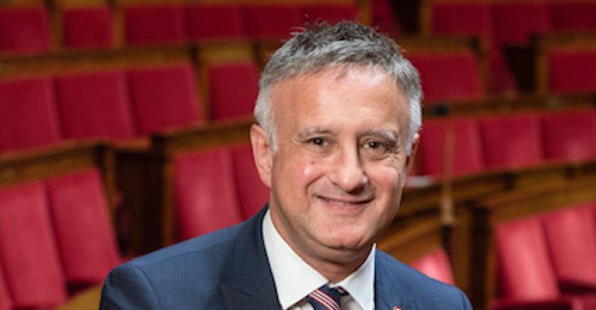Déclaration de candidature d'Yves Hemedinger aux élections départementales