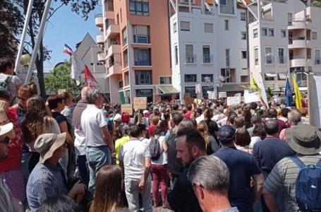Manifestation à Colmar contre le Pass Sanitaire