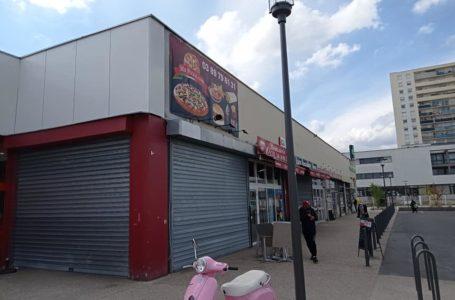 Le centre commercial Europe à Colmar laissé à l'abandon