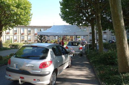 Pass sanitaire à l'hôpital Pasteur de Colmar