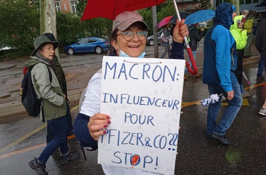 Une pluie de manifestants à Colmar